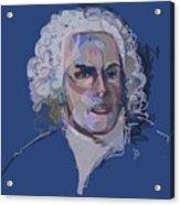 Ah, Bach Acrylic Print
