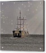 Ahoy Matey Acrylic Print