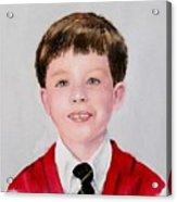 Aidan - Commissioned Portrait Acrylic Print