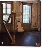 Aiken Rhett House Living Room Acrylic Print