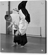 Aikido Up And Down Acrylic Print