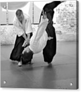 Aikido Wrist Lock  Acrylic Print