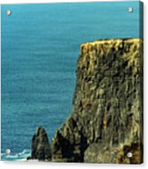 Aill Na Searrach Cliffs Of Moher Ireland Acrylic Print