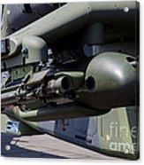 Aim-92 Stinger Weapon And Gunpod Acrylic Print