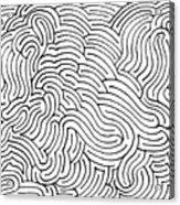 Aimless Acrylic Print