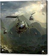Air Assault Acrylic Print