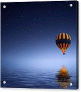 Air Ballon Acrylic Print
