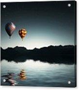 Air Balloons Acrylic Print
