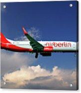 Air Berlin Boeing 737-800 Acrylic Print