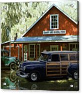Air Brushed Woody At Country Store Acrylic Print