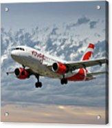 Air Canada Rouge Airbus A319 Acrylic Print