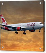 Air Canada Rouge Boeing 767-333 2 Acrylic Print