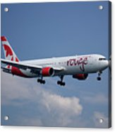 Air Canada Rouge Boeing 767-333 4 Acrylic Print