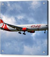 Air Canada Rouge Boeing 767-35h 118 Acrylic Print