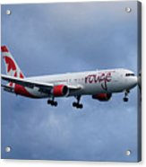 Air Canada Rouge Boeing 767 Acrylic Print