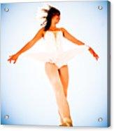 Air Dancer Acrylic Print