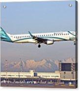 Air Dolomiti, Embraer Erj-195 Acrylic Print