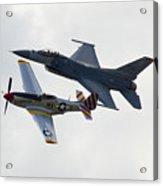 Air Force Heritage Flight Acrylic Print