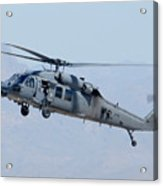 Air Force Sikorsky Hh-60g Blackhawk 90-26228 Mesa Gateway Airport March 11 2011 Acrylic Print