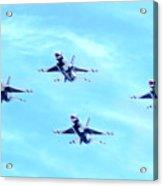 Air Force Thunderbirds Acrylic Print