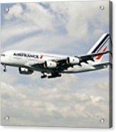 Air France A380-800 F-hpjb Acrylic Print