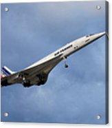 Air France Concorde 117 Acrylic Print