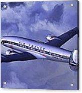 Air France Connie Acrylic Print