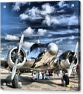 Air Hdr Acrylic Print by Arthur Herold Jr