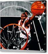 Air Jordan Above The Rim Acrylic Print