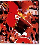 Air Jordan Cradle Dunk Acrylic Print
