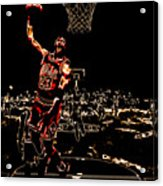 Air Jordan Thermal Acrylic Print