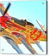 Air Racing Reno Style Acrylic Print by Gus McCrea
