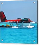 Hydroplane Acrylic Print