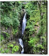 Aira Force Waterfall, Aira Beck, Ullswater, Lake District Acrylic Print
