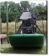 Airboat Acrylic Print