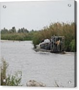 Airboat Rides 25 Cents Acrylic Print