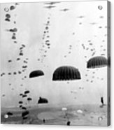 Airborne Mission During Ww2  Acrylic Print