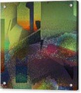 Airbrush Acrylic Print