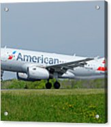 Airbus A319 Acrylic Print