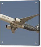 Airbus A350 At Dubai Air Show, Uae Acrylic Print