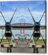 Aircraft Abstract Acrylic Print
