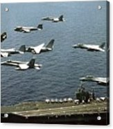Aircraft Assigned Acrylic Print by Everett