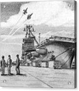 Aircraft Carrier Acrylic Print