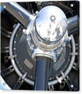Aircraft Engine Acrylic Print
