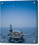 Aircraft From Carrier Air Wing Acrylic Print