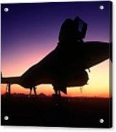 Aircraft Silhouette Acrylic Print