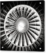 Aircraft Turbofan Engine Acrylic Print
