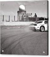 Airfield Drifting Acrylic Print