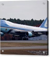 Airforce One Acrylic Print