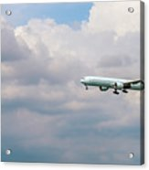 Airplane In The Sky Acrylic Print